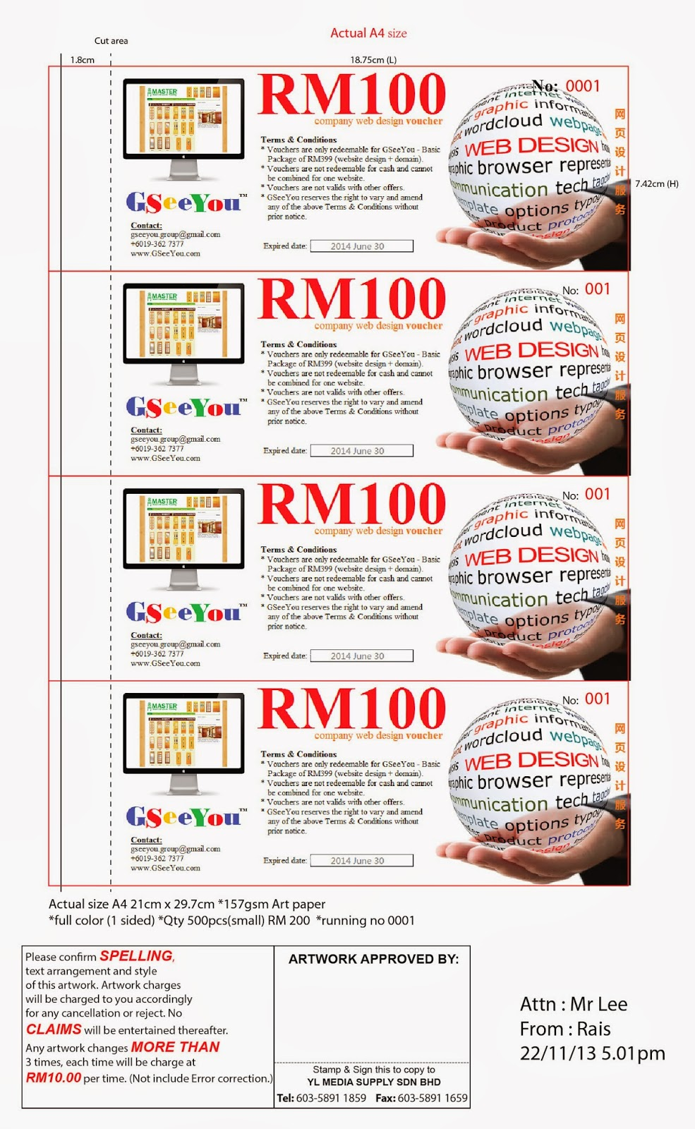 color printing malaysia :  Voucher Is Ready For Printing And Will Be Distributed Through Our 15 Partners Who Are Printing And Signboard Companies Around Malaysia