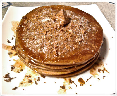 Triple Chocolate Pancake