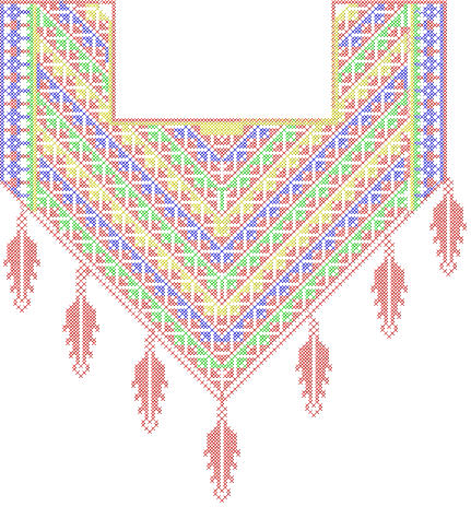 A fashion club machine embroidery neckline designs Fashion embroidery designs