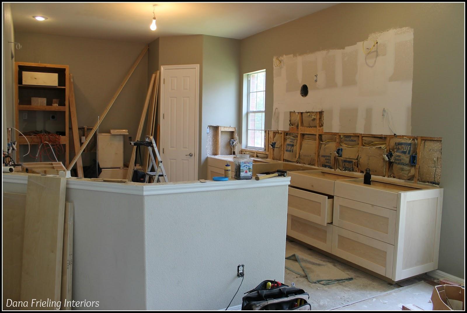 Kitchen Renovation In Progress Make Them Wonder Kitchen Progress