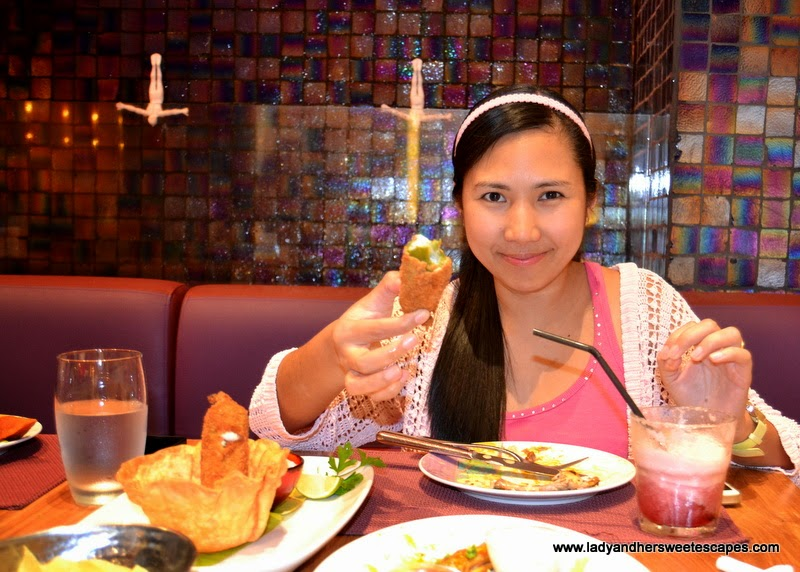 Lady in Rosa Mexicano The Dubai Mall