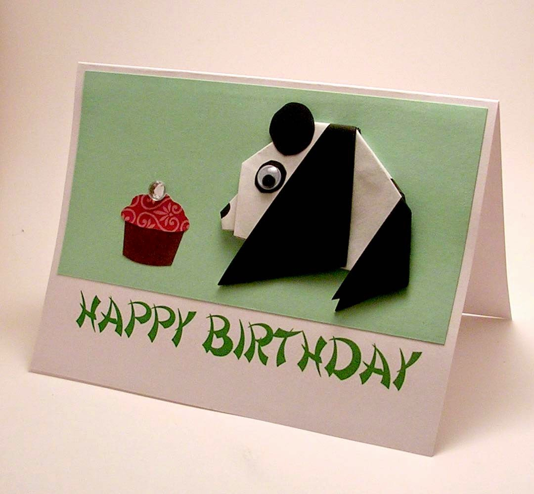 Origami Birthday Card Origami Instructions Art And Craft Ideas