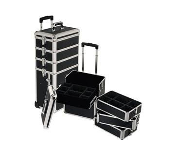 Rolling Makeup Case on Makeup Artist Eleni  Review  4 In 1 Rolling Makeup Case