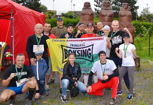Niezawodna ekipa! SKF BOKSING Zielona Góra - znajdziesz nas wszędzie!