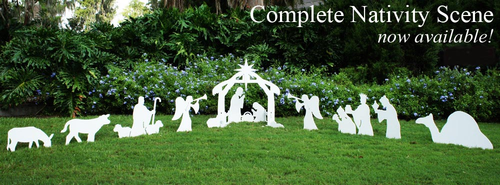 Outdoor nativity scene nativity scene by outdoor nativity sets solutioingenieria