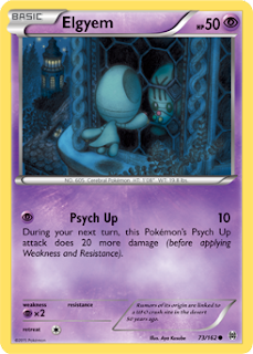 Elgyem BREAKthrough Pokemon Card