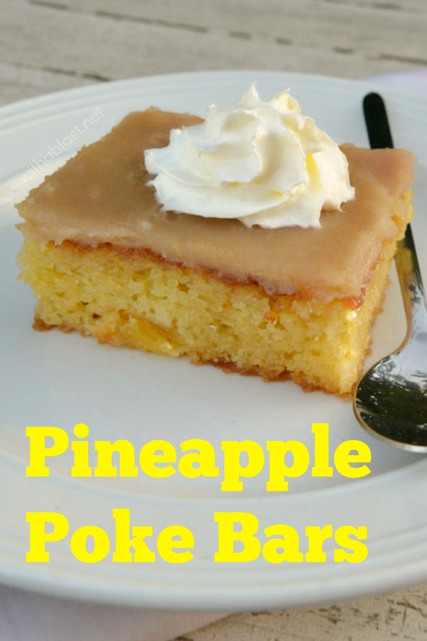 Pineapple Poke Bars