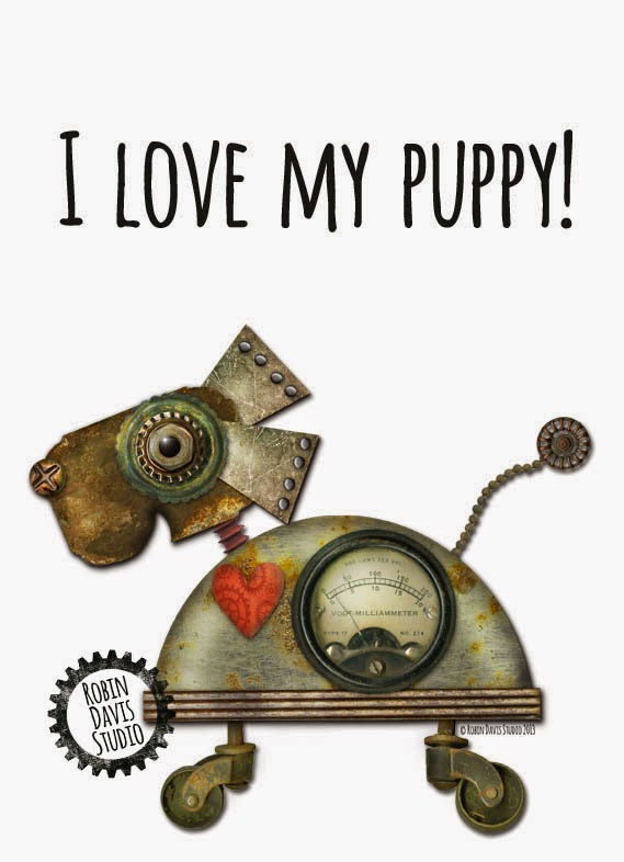Love my PUPPY print | Robin Davis Studio