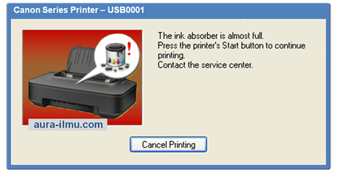 Error Printer Canon