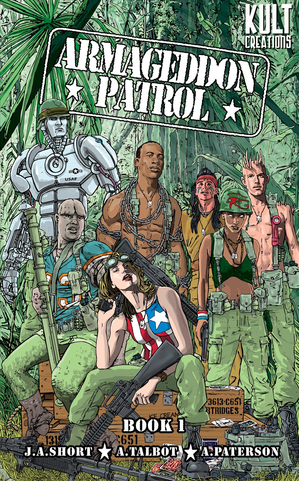 Buy ARMAGEDDON PATROL BOOK 1 - Digital @£9.99 BELOW!