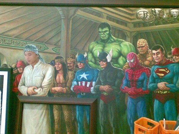 Andai Super Hero Sholat Berjamaah Bersama