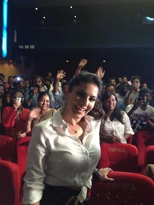 Sunny Leone in Theatre