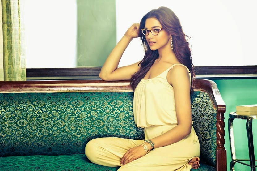 Deepika Padukone in white nightwear