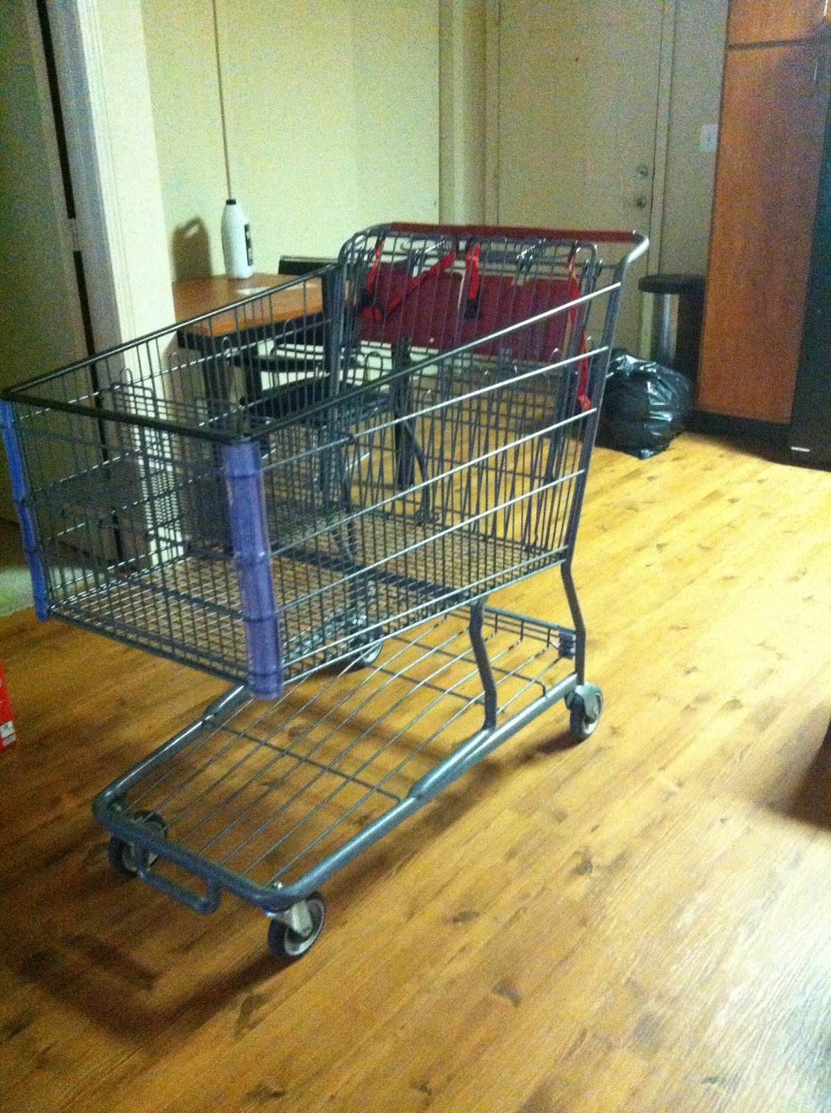 Today I Learned...: Shopping carts are incredibly efficient for moving.