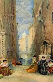 Water Color Painting - A Shrine in Venice