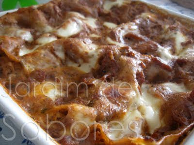 Lasanha de Bacalhau com Pasta de Azeitonas Pretas