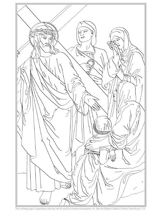 Jesús encuentra a las mujeres de Jerusalén