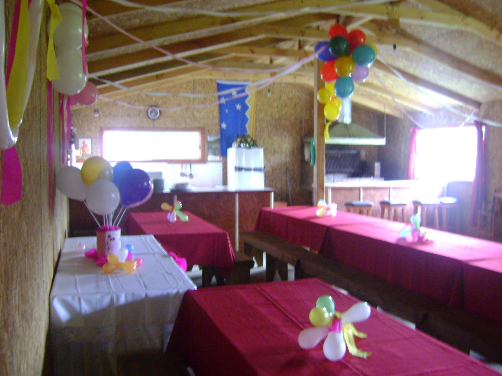 Decoracion De Baños Para Quinchos:Quincho los Cipreces: Decoración para Cumpleaños