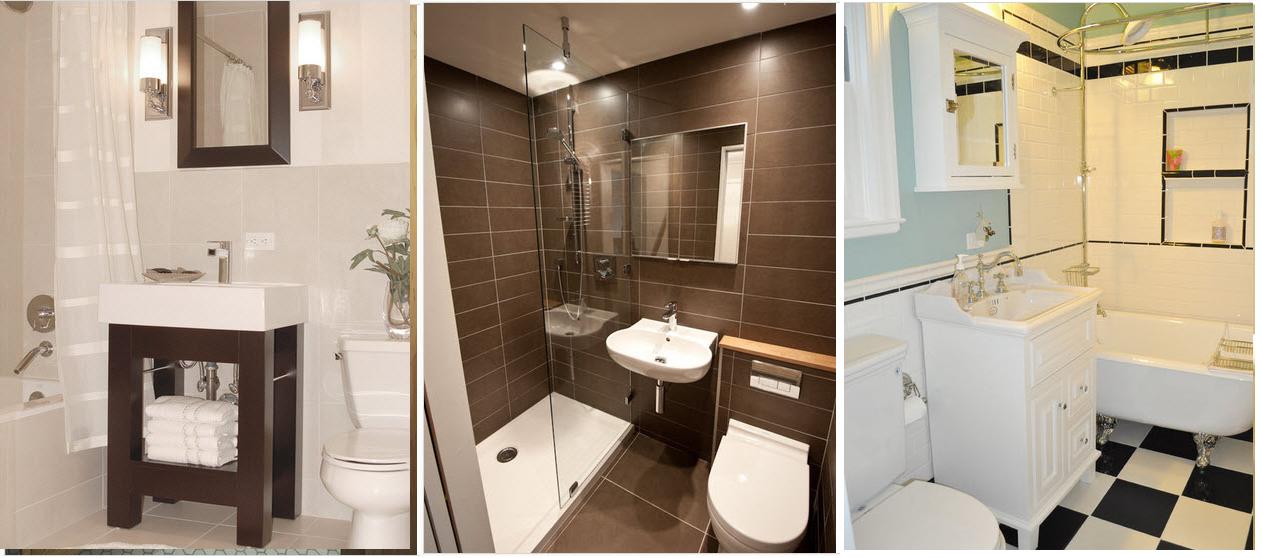 Tinas De Baño Tamanos:Consejos para mejorar el diseño de cuarto de baño pequeño – CASAS