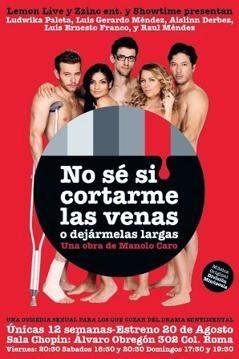 No Se Si Cortarme Las Venas o Dejarmelas Largas en Español Latino