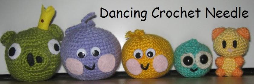 Dancing Crochet Needle