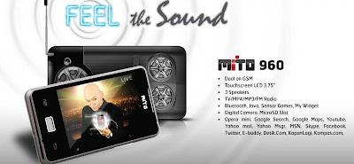 Gambar HP Mito 960 Handphone TV Murah