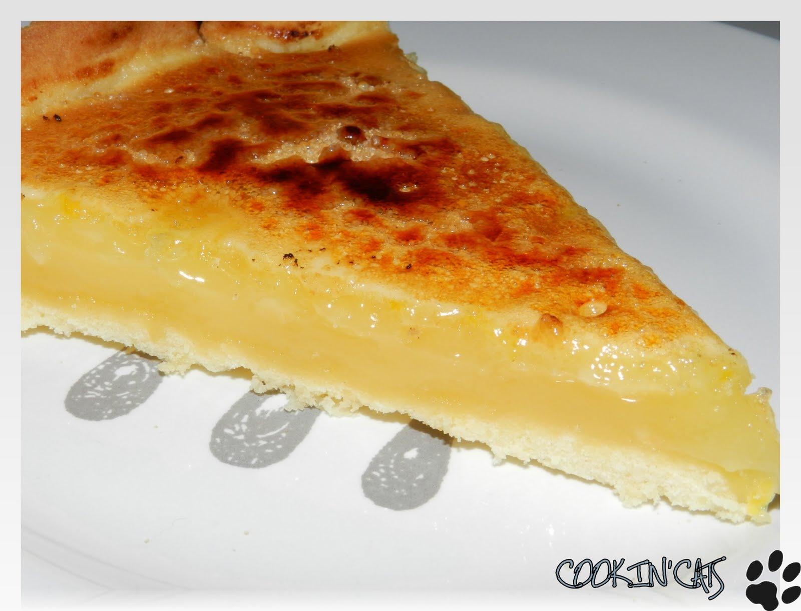 Tarte au citron facon creme brulee - Tarte aux poireaux sans creme ...