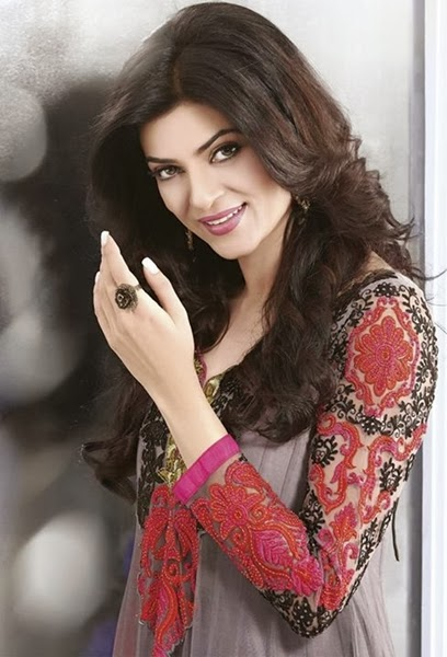 Khushrang Boutique Queen Collection 2013 Sushmita Sen