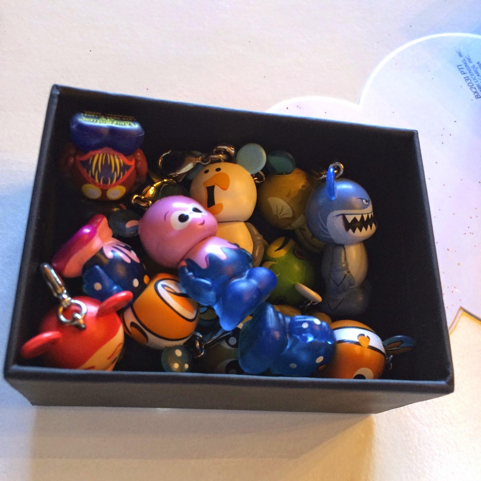 "Disney Pixar Finding Nemo Tank Gang Figure Collection 1.5/"" Bloat"
