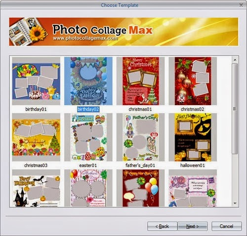 تحميل برنامج تركيب اطارات للصور Photo Collage Max مجانا