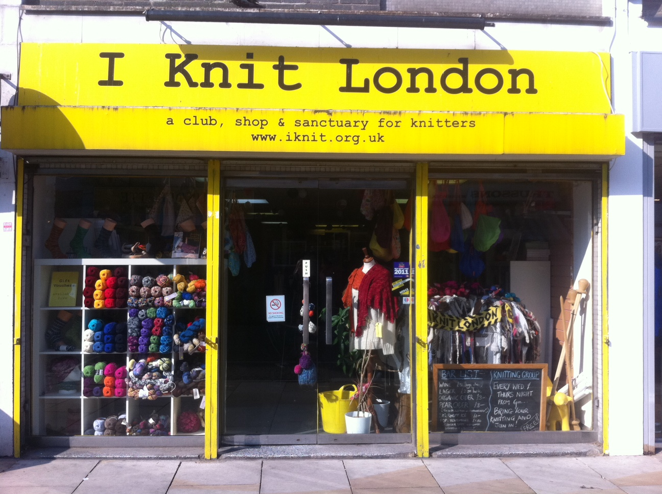 Knitting Events London : East london craft guerrilla i knit guernsey competition