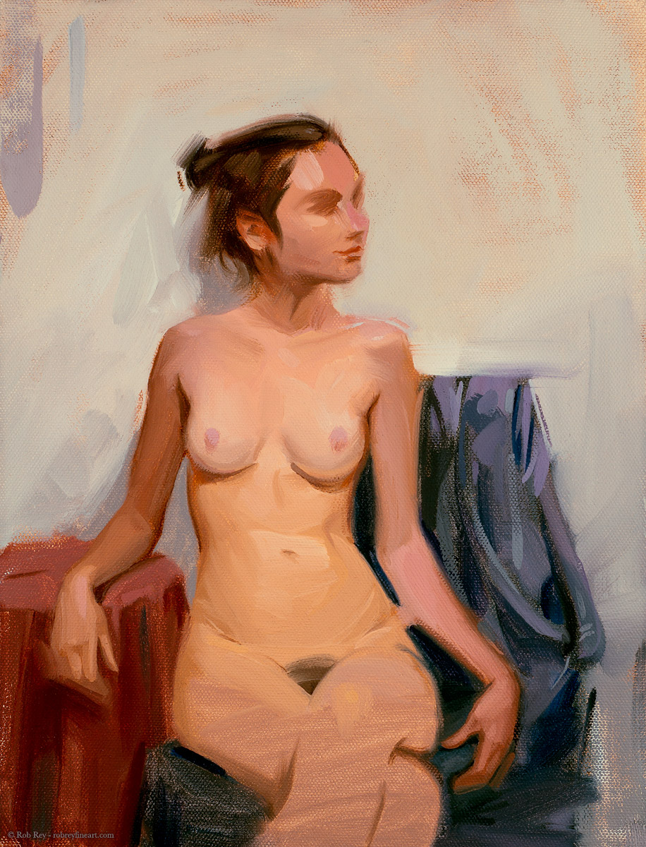 Nude by Rob Rey - robreyfineart.com
