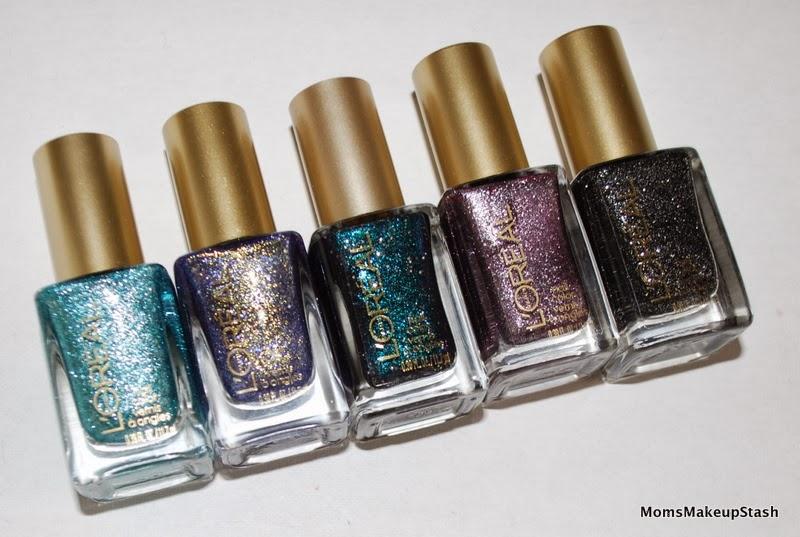 L\'Oreal Paris Colour Riche Nail Lacquer: Gold Dust Collection ...