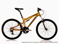 Sepeda Gunung United Command FX72 Full Suspension 21 Speed + Rangka Aloi 26 Inci