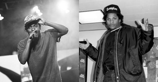 Kendrick Lamar presta homenagem a Eazy-E
