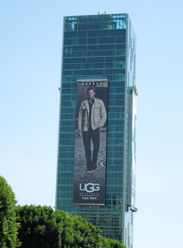 Giant UGG for Men billboard Hollywood