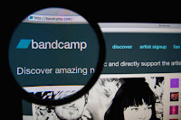 Bandcamp artist subscription image