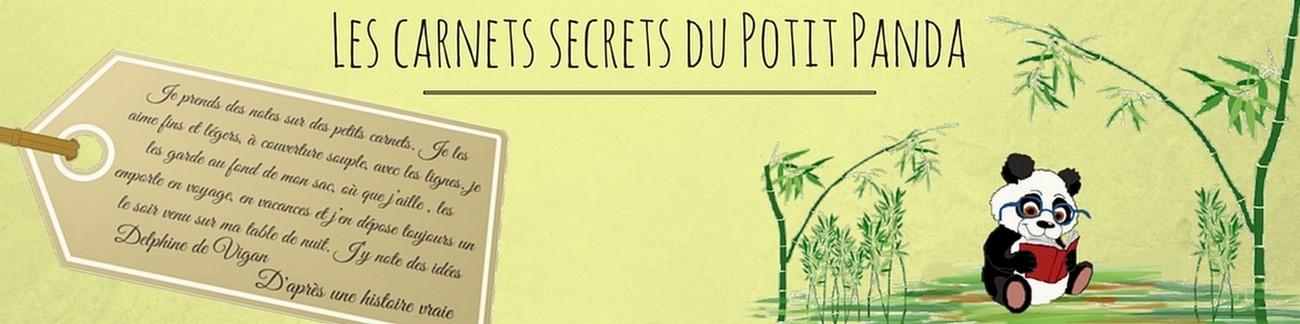 Les carnets secrets du Potit Panda