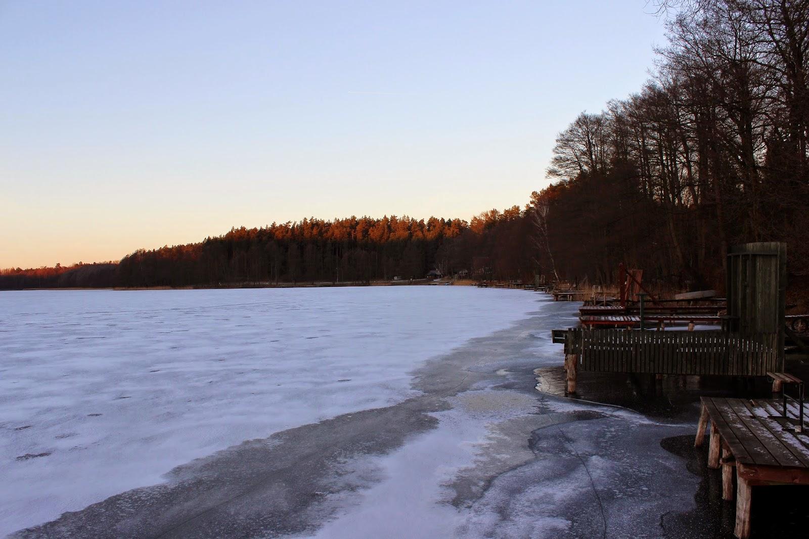 Fotografia krajobrazowa: Jezioro Dłużek
