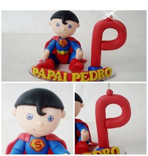 Super heroi de biscuit