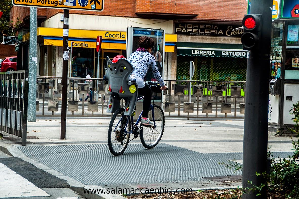 con bici al cole carril bici