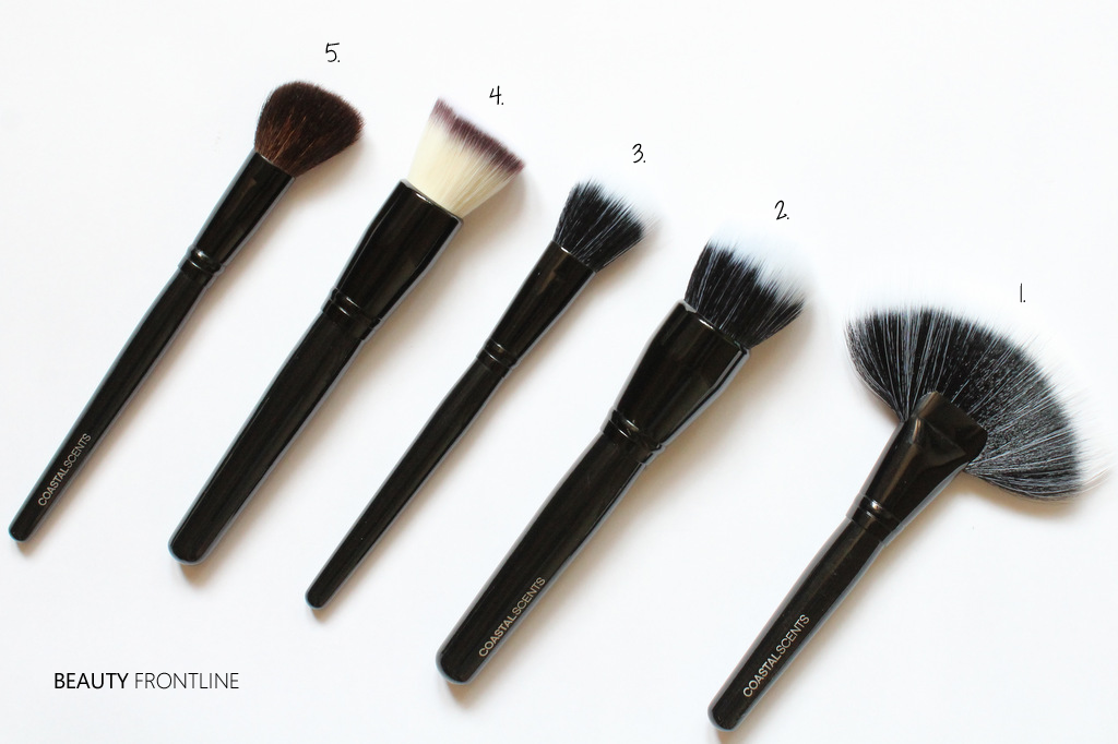 coastal scents brushes. coastal scent brush set contents- scents brushes