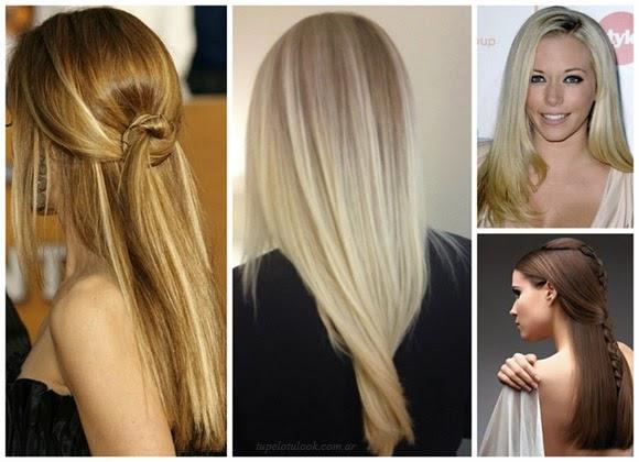 Peinados 2014 pelo liso queratina