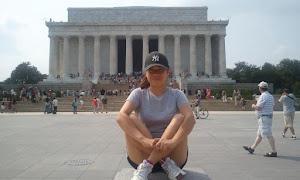 outside of Lincoln Memorial