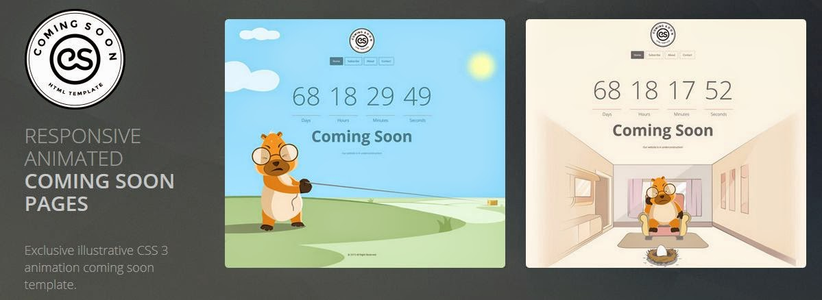 Best Responsive Coming Soon Template