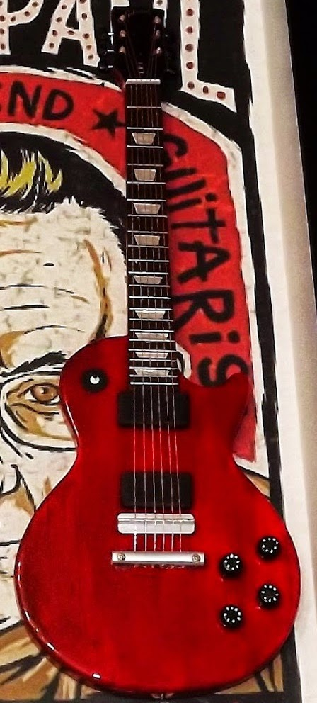 mini guitarra Les Paul