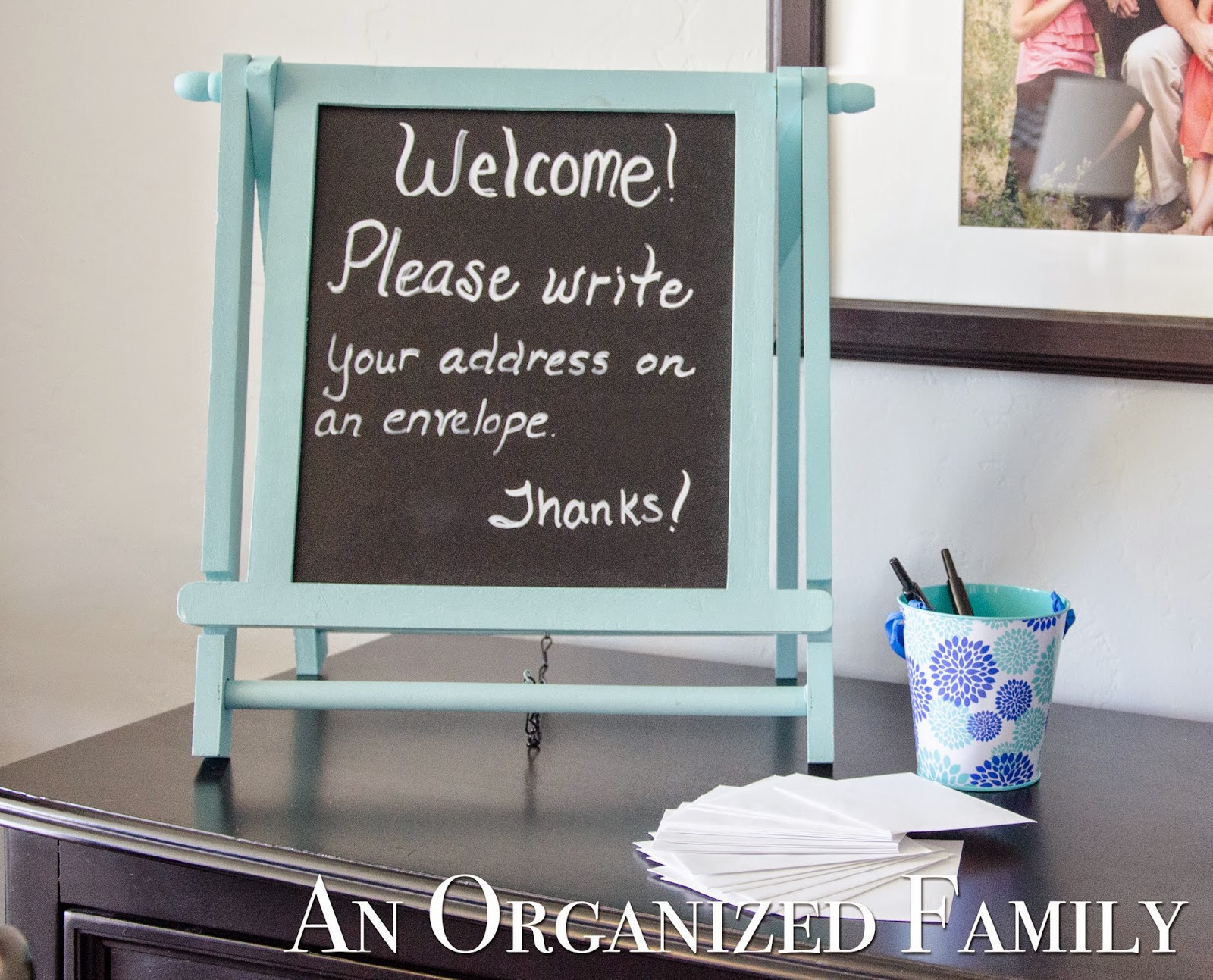 an organized family project a modern country baby shower, Baby shower