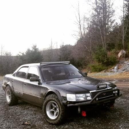 Daily Turismo: 5k: Rally Strange: 1990 Lexus LS400