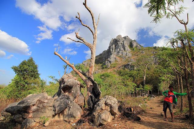 View gunung Fatuleu