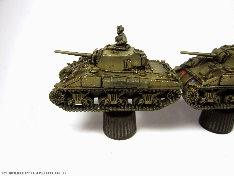 Panzer March Sherman Platoon 2 Battlefront Open Fire